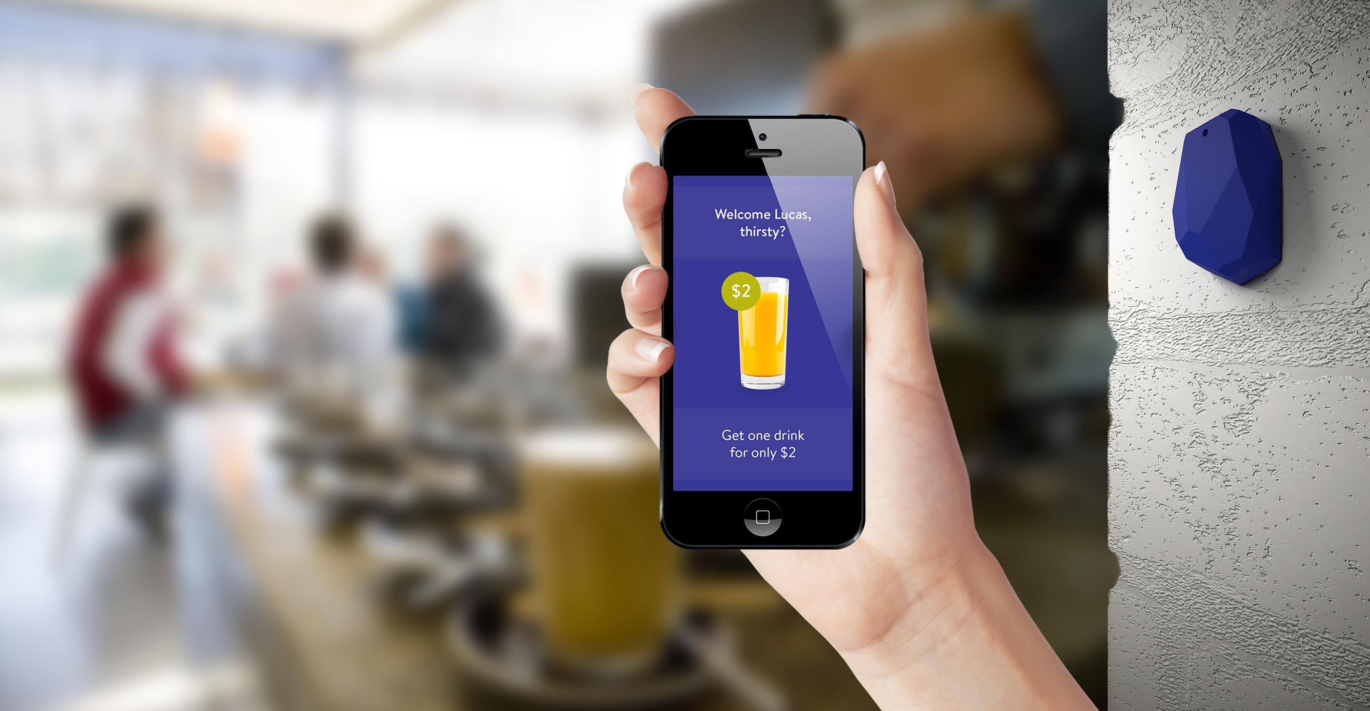 Beacons podem ser utilizados em diversas áreas como restaurantes