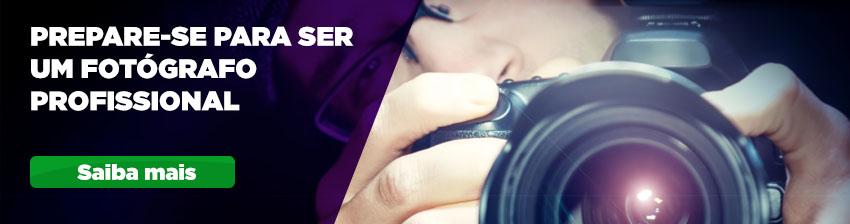 Os cursos ideais para te ajudar a ser um fotógrafo profissional estão aqui