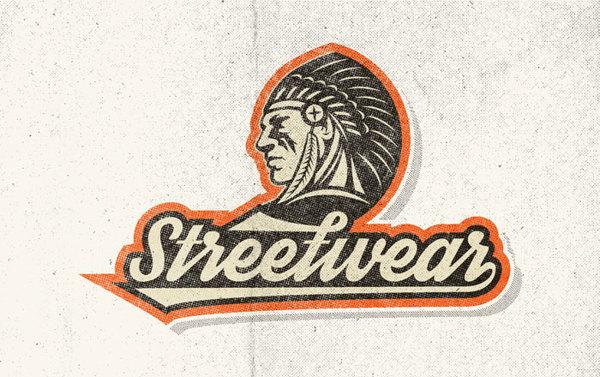 Tipografia Streetwear é inspirada no clima esportivo das décadas de 60 e 70