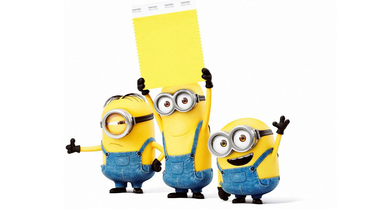 Amarelo Minion é a nova cor da paleta da Pantone, baseada nos monstrinhos do Meu Malvado Favorito