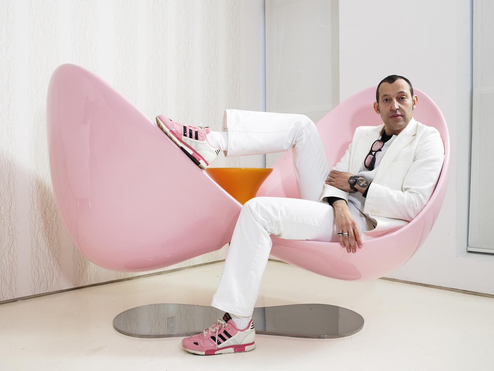 Karim Rashid é um grande nome do design de interiores