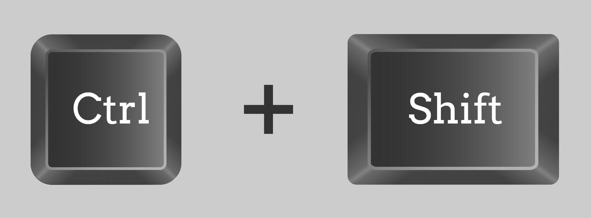 Atalho Ctrl + Shift é um dos macetes do Excel