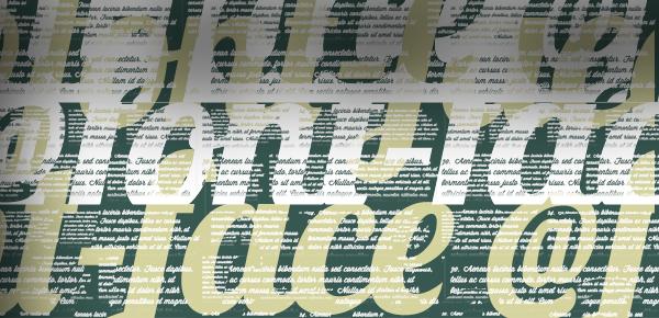 Web fonts são muito importantes ao definir um layout de um site