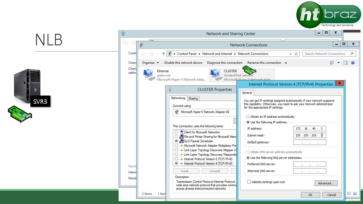 Veja como montar um laboratório NLB com Windows Server 2012 R2