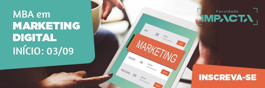 MBA em Marketing Digital te prepara para ser um especialista em uma das áreas que mais crescem