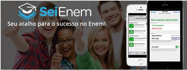 SeiEnem: aplicativo facilita seus estudos para a prova