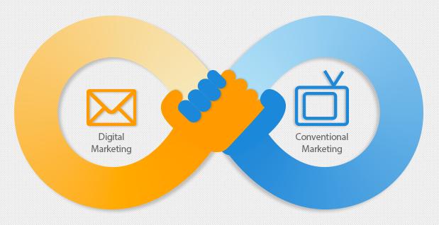 Conheça as diferenças entre o marketing digital e o tradicional