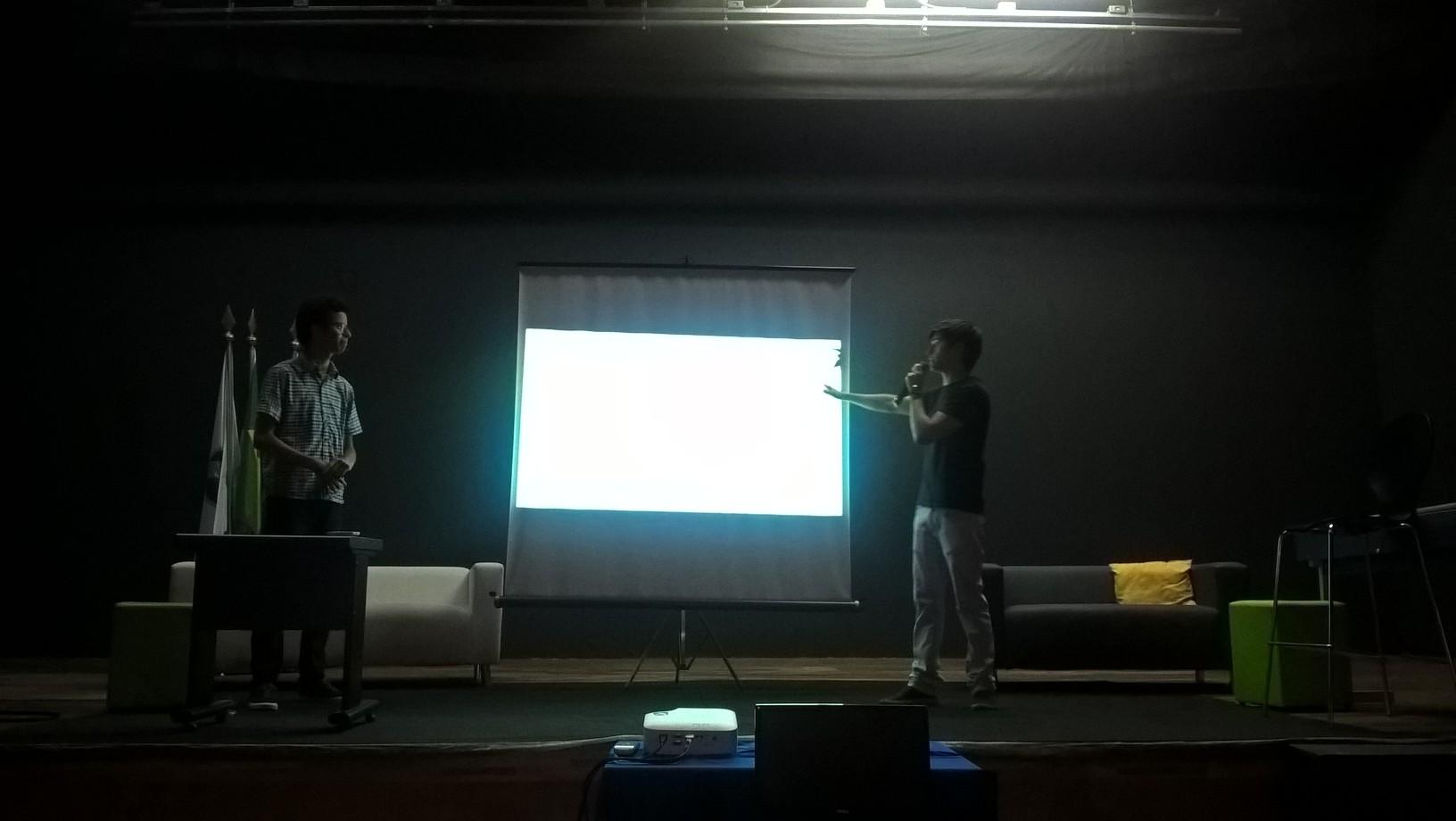 Projeto sobre banco de dados do ENEM foi apresentado pelos alunos do 1º semestre