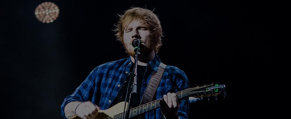 Ed Sheeran foi o artista mais comentado na rede social em 2015