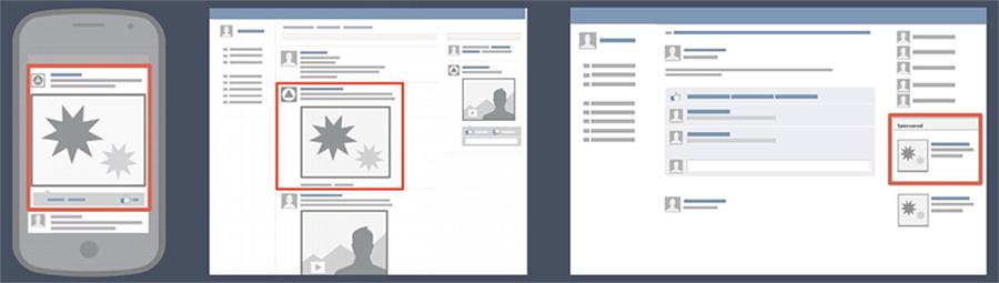 Um bom design também é muito importante para campanhas de Facebook