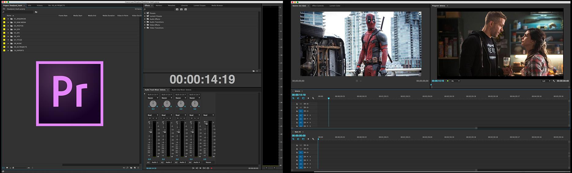Programas da Adobe facilitaram o trabalho de edição do filme Deadpool