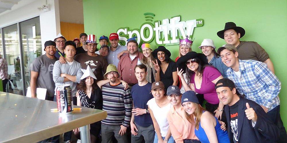 Empresas como a Spotify oferecem diferentes benefícios aos funcionários