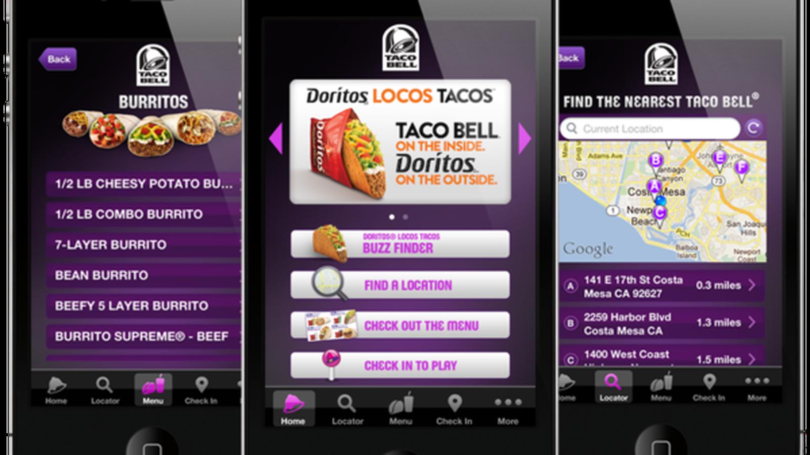 Rede de restaurantes Taco Bell investe em apps e atuação digital para atrair fãs