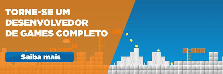 Torne-se um desenvolvedor de games completo com a graduação em Jogos Digitais