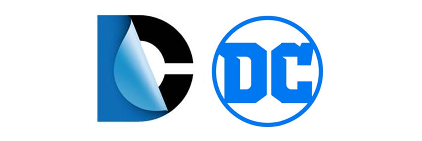 Novo logo da DC está mais simples e sem cantos arredondados