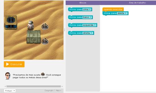 Jogando com BB-8, você aprende os fundamentos da programação