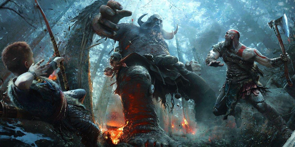 Com diretor de arte brasileiro, god of war é um dos destaques da E3 2016