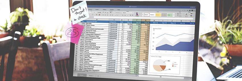 Header_Excel rotina de trabalho