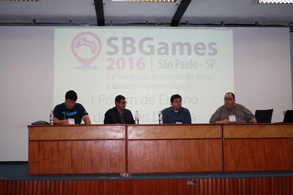 Professor de Jogos Digitais da Faculdade Impacta participa do SBGames 2016