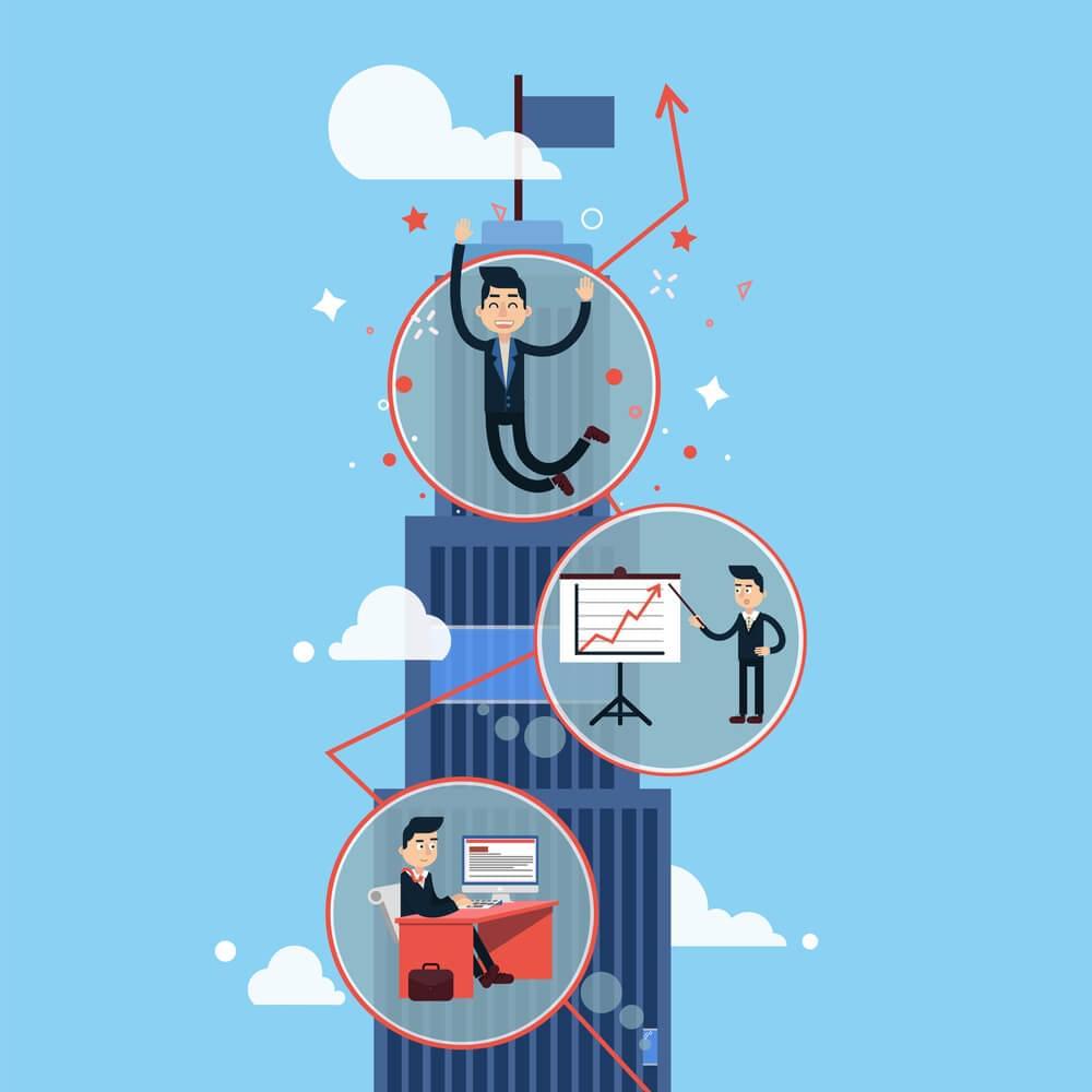 Algumas dicas te ajudam a fazer uma gestão de carreira eficiente