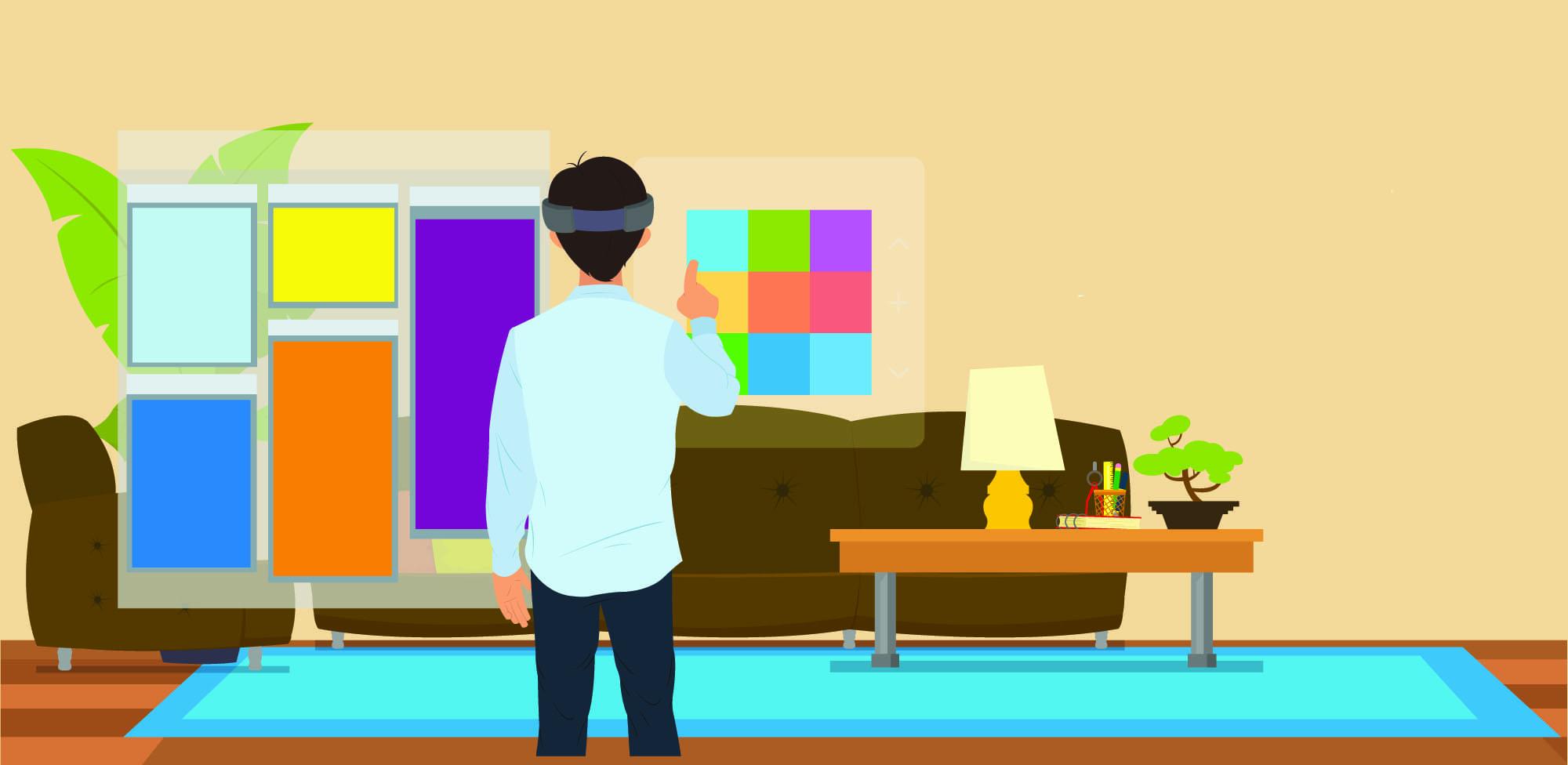 Os designers já vão pensar nas interações para realidade virtual