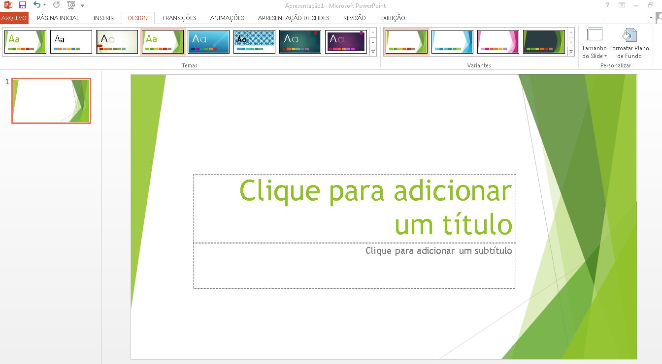 Saiba como fazer slide no Powerpoint
