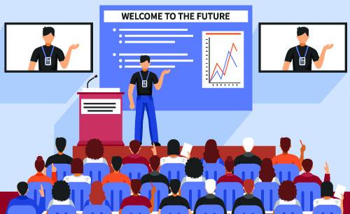 Muitos profissionais podem usar as apresentações incríveis no PowerPoint
