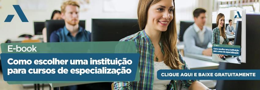 Veja Como escolher uma instituição para cursos-de especialização no e-book