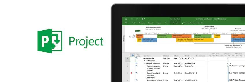 microsoft project: como usar