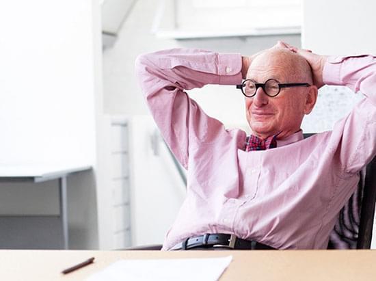 O designer Wally Saffron é renomado na área de branding