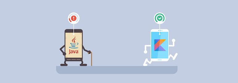Ultrapassando o Java, a Kotlin é a principal linguagem para Android