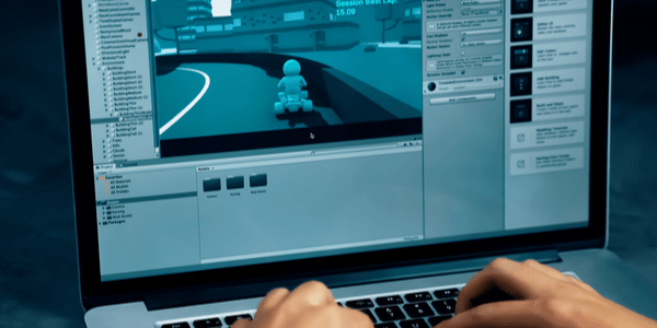 Capa do artigo Criando um jogo 3D FPS com Unity – Impacta Game Hour