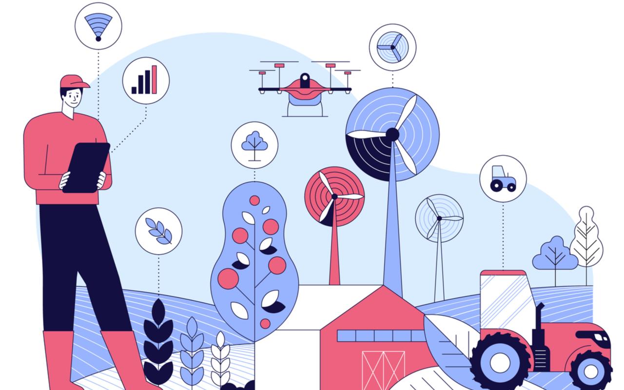 Capa do artigo AgTechs: dobram as startups de tecnologia no agronegócio. Entenda o que são!